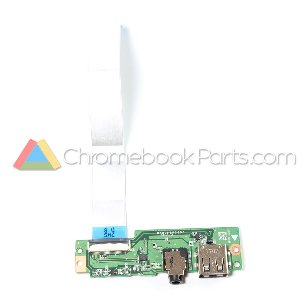 Acer 11 Cb3 131 Chromebook Usb I O Circuit Board 55g84n7002 Larger Photo