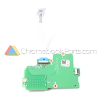 Dell 11 CB1C13 Chromebook SD Memory Card Reader and LED Board - 9CKY7