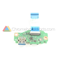 Acer 11 C771T Chromebook USB Daughterboard - 55.GNZN7.001