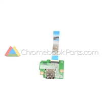 HP 11 G5 EE Chromebook USB Daughterboard - 917436-001
