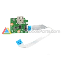 Lenovo 11 100s Chromebook USB Daughterboard - 3QNL6IB0020