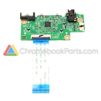 Lenovo 11 300e Gen 2 (81QC) Chromebook Power and Audio Daughterboard - 5C50T95169