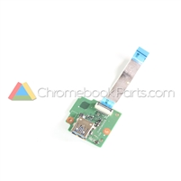 Acer 11 C731T Chromebook USB Daughterboard - 55.GM9N7.001