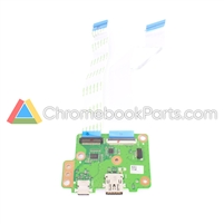 Asus 14 C423N Chromebook USB Daughterboard  - 69N163D10A01-01, 69N163F10A01-01