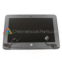 HP 11 G6 EE Chromebook LCD Assembly, Gray, Non-Touch Version