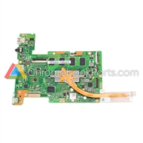 Asus 15 C523N Chromebook Motherboard (4GB RAM and 32GB Storage) and Heat Sink - 60NX01R0-MB1421, 13N1-5KA0811
