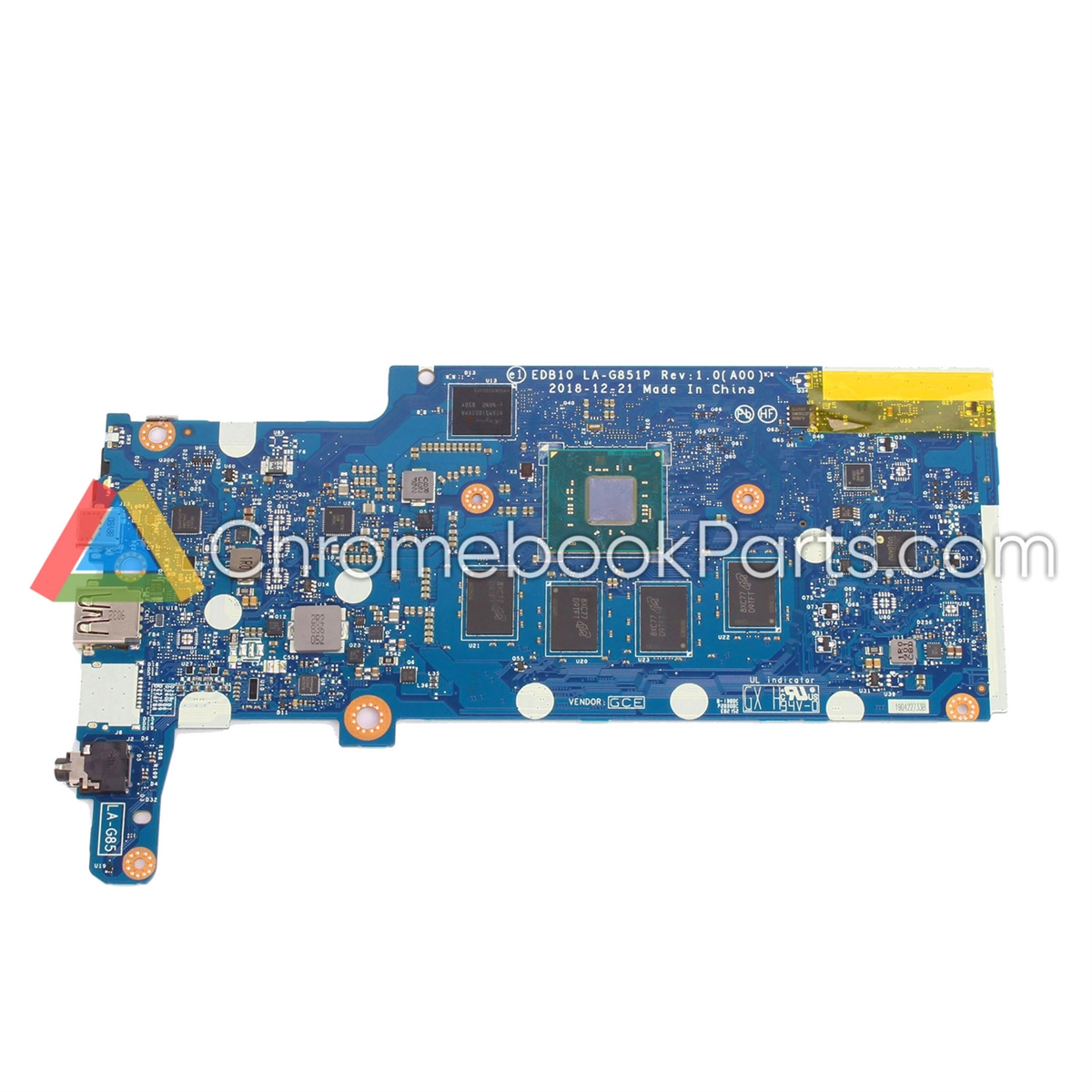 Dell 11 3100 Chromebook Motherboard, 4GB