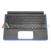 Dell 11 3120 Chromebook Palmrest Assembly w/ Keyboard Only, Blue - 38ZM8TCWI