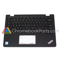 Lenovo 13 ThinkPad Chromebook Palmrest w/ keyboard - 01AV646