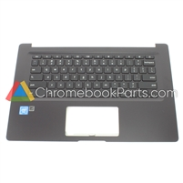 Asus 14 C403NA Chromebook Palmrest Assembly w/ Keyboard Only - 90NX01P1-R31UI0