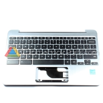 Asus 10 C100PA Chromebook Palmrest Assembly w/ Keyboard Only - 90NL0971-R31US0