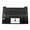 Samsung 11 XE503C12 Chromebook Palmrest Assembly w/ Keyboard Only, Black - BA97-07007A