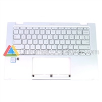 Asus 14 C433TA Chromebook Palmrest Assembly W/ Keyboard Only (Backlight Version) - 90NX02G1-R31US0