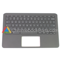 HP 11A-NB0013DX Chromebook Palmrest Assembly w/ Keyboard Only - L14921-001