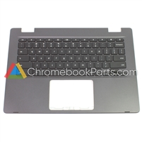 Asus 14 C423N Chromebook Palmrest w/ keyboard, Black - 13N1-63A0E01