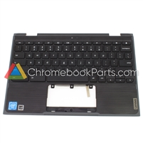 Lenovo 11 300e Gen 2 Chromebook (81MB) Palmrest Assembly w/ Keyboard (WFC Version) - 5CB0T79500