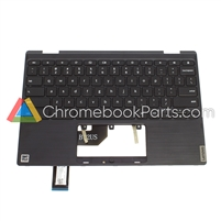 Lenovo 11 300e Gen 2 (81QC) Chromebook Palmrest w/ keyboard - 5CB0T95165