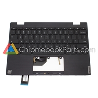 Lenovo 11 100e Gen 2 Chromebook Palmrest w/ Keyboard - 5CB0X55485