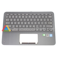 HP 11 x360 G3 EE Chromebook Palmrest (Non-WFC) - L92214-001