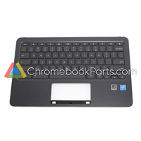 HP 11 x360 G2 EE Chromebook Palmrest Assembly w/ keyboard - L55801-001
