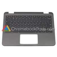 Dell 11 3100 Non-touch Chromebook Palmrest w/ Keyboard - 09X8D7