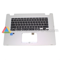 Asus 15 C523N Chromebook Palmrest Assembly w/ keyboard - 13N1-5RA0D01