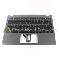 Acer 11 C740 Chromebook Palmrest Assembly w/ Keyboard Only - 60.EF2N7.021