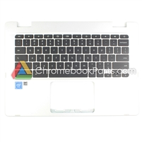 Asus 14 C423N Chromebook Palmrest w/ keyboard - 90NX01Y1-R31UI0
