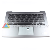 Dell 13 7310 Chromebook Palmrest Assembly w/ Keyboard Only - 3FDT7