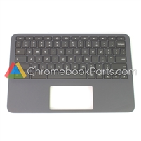 HP 11 G8 EE (AMD) Chromebook Palmrest Assembly w/ keyboard - L90338-001