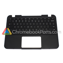 Lenovo 11 N21 Chromebook Palmrest Assembly w/ Keyboard Only - 5CB0H70355