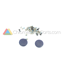 Asus 11 C201PA Chromebook Screw and Rubber Kit