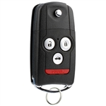 New Flip Key Keyless Entry Remote Fob for 2007-2013 Acura MDX RDX (N5F0602A1A)