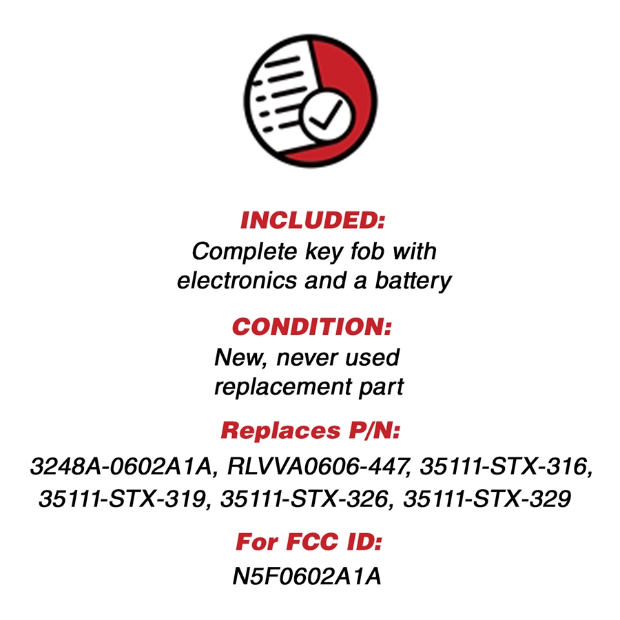 Key Fob Keyless Entry Remote For Acura MDX RDX N5F0602A1A Flip