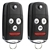 2 New Flip Key Keyless Entry Remote Fob for 2007-2013 Acura MDX RDX (N5F0602A1A)