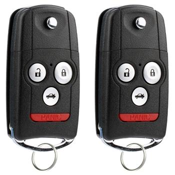 2 Key Fob Keyless Entry Remote For Acura Mdx Rdx