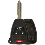 New Just the Case Keyless Entry Remote Key Fob Shell for Chrysler Dodge Jeep (OHT692427AA)