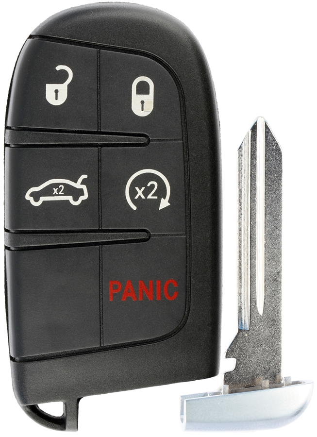 2Key Fob Replacement Keyless Entry Remote Control fits Jeep Compass M3N-40821302
