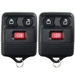 2 New Replacement Keyless Entry Remote Key Fob Clicker Control Transmitter