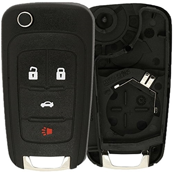 Case Shell For Buick Chevy Gmc Keyless Remote Key Fob