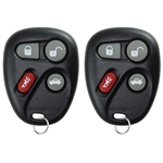2 New Keyless Entry Remote Key Fob for 25695954, 25695955