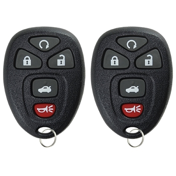2 Key Fob Keyless Entry Remote For 22733524 Cobalt Malibu