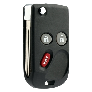 New Keyless Entry Remote Flip Key Fob for 15008008, 15008009, 15051014