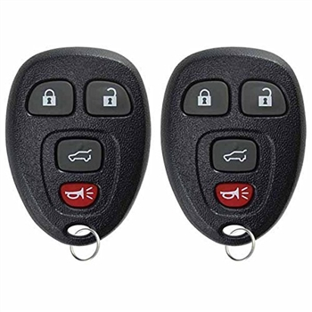 key fob keyless entry remote  buick cadillac chevy gmc saturn ouc