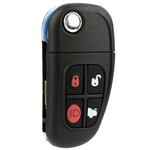 New Keyless Entry Remote Key Fob for 2001-2008 Jaguar S-Type X-Type XJ8 (NHVWB1U241)