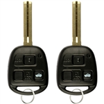 2 New Keyless Entry Remote Control Car Key Fob Replacement for HYQ1512V 4C