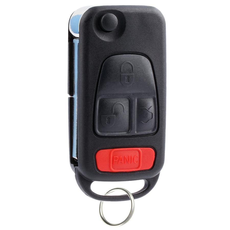Fits Mb1k Ncz Flip Key Fob Keyless Entry Remote Fits