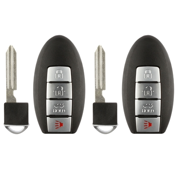 2 Key Fob Keyless Entry Remote For Nissan Infiniti