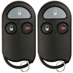 2 New Keyless Entry Remote Key Fob for Nissan Infinti (KOBUTA3T)