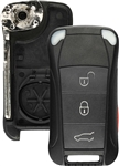 New Just the Case Keyless Entry Remote Key Fob Shell for Porsche (KR55WK45022) Flip